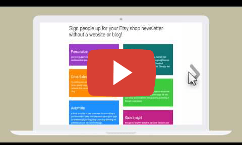 Why you should use Handmade Newsletter video